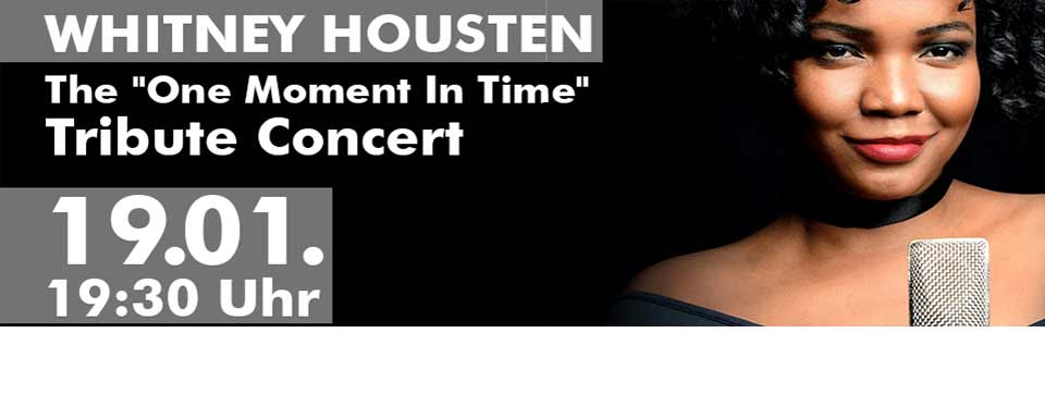 """The """"One Moment In Time"""" - Tribute Concert"""