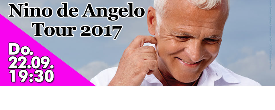 Nino de Angelo - Tour 2017