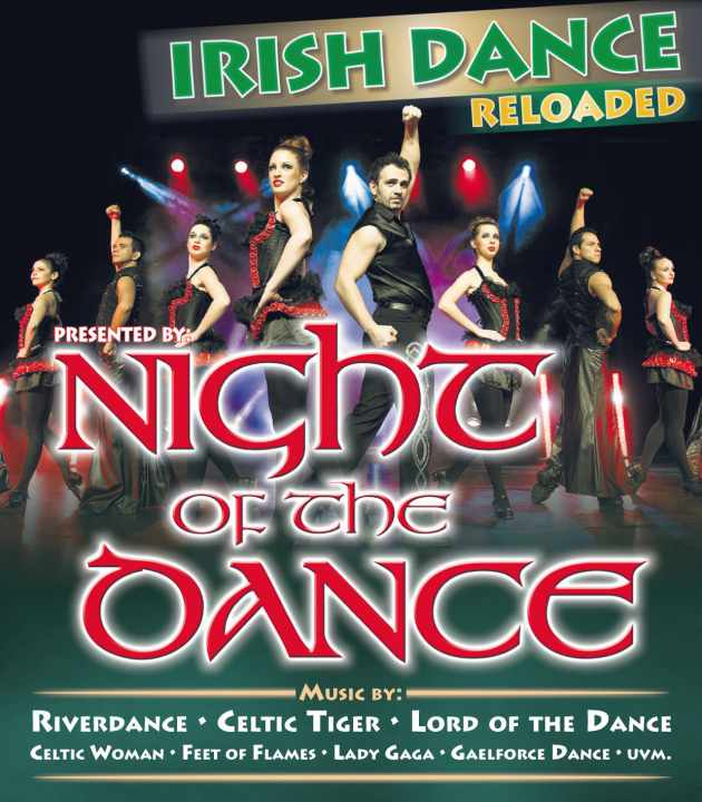 Music by: Riverdance, Celtic Tiger, Celtic Woman, Lord of the Dance, Gaelforce Dance, Feet of Flames, Lady Gaga uvm.