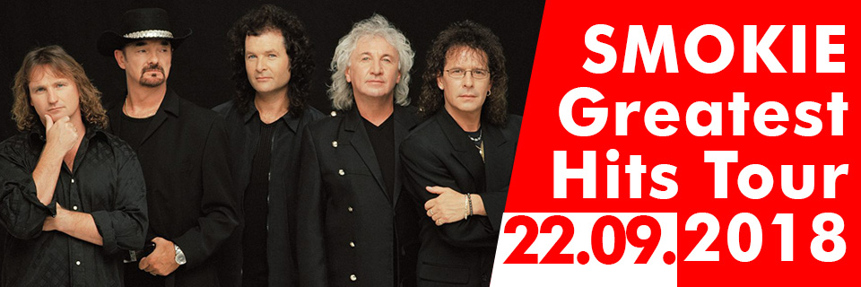 SMOKIE - Greatest Hits Tour 2018 -  Lausitzhalle Hoyerswerda 2018