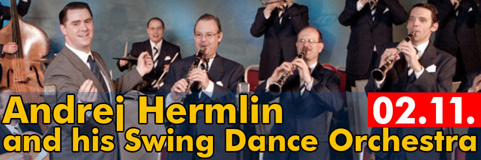 Andrej Hermlin and his Swing Dance Orchestra -  Lausitzhalle Hoyerswerda 2018